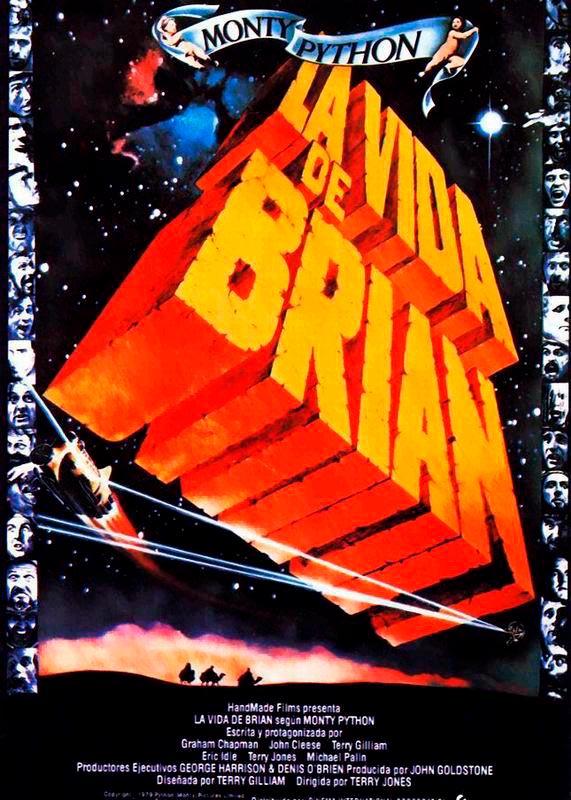 La vida de Brian. Life of Brian poster