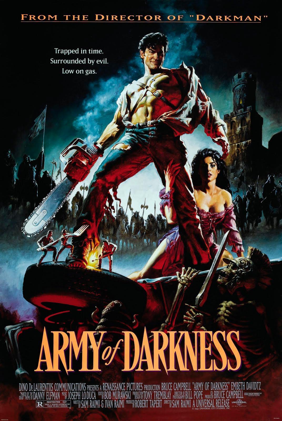 Ejército de las tinieblas poster army of darkness evil dead 3