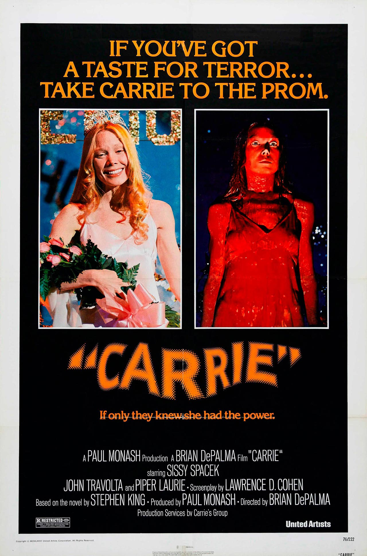 carrie poster stephen king