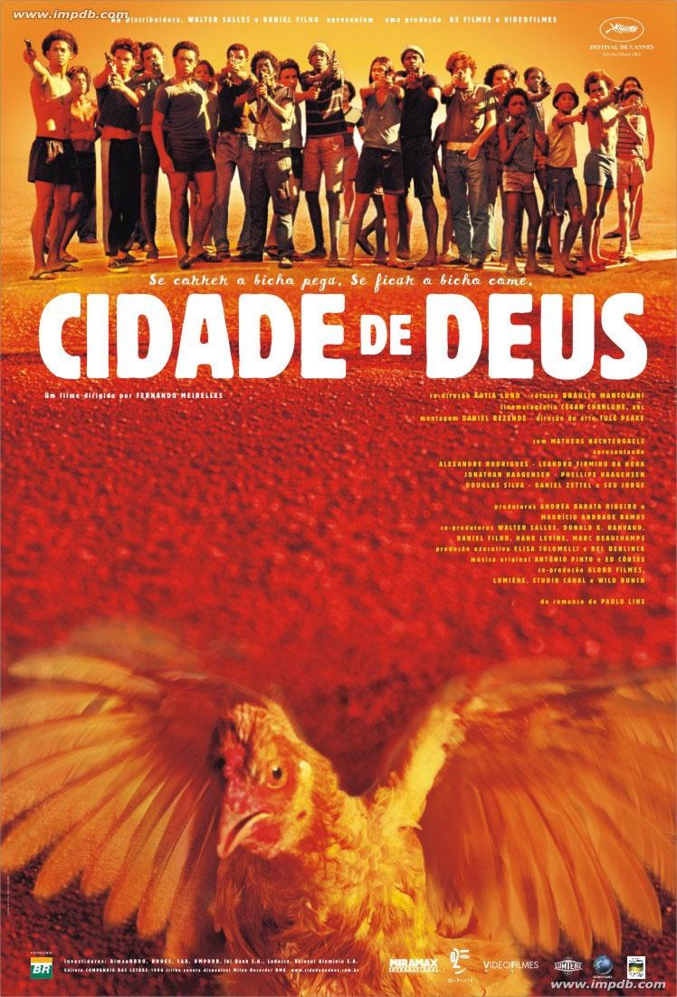 ciudad de dios cidade de deus poster