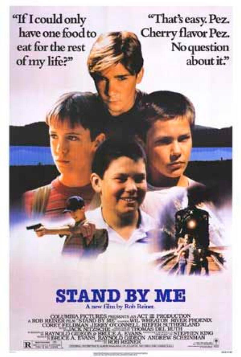 cuenta conmigo poster stand by me
