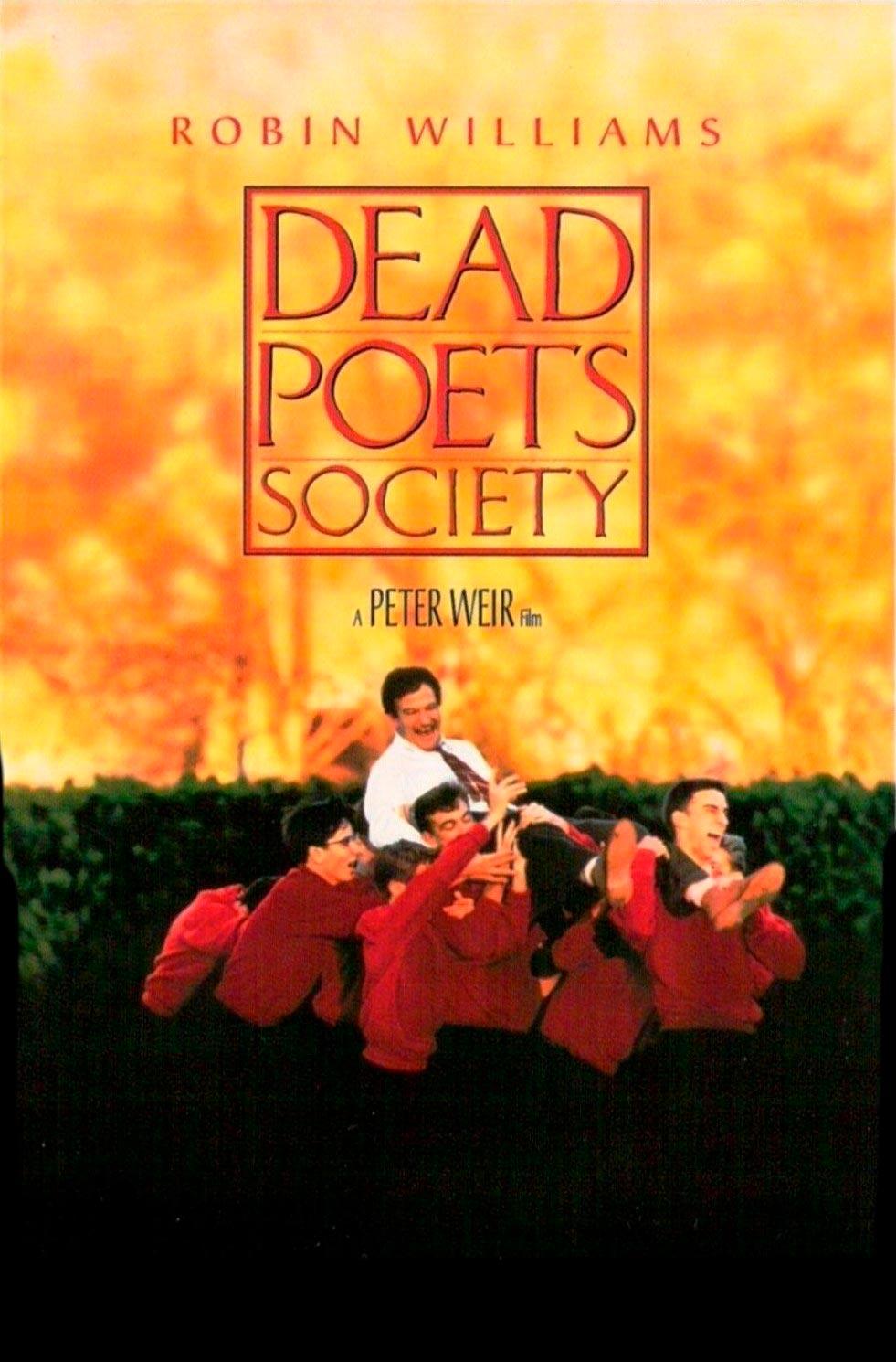 el club de los poetas muertos dead poets society poster