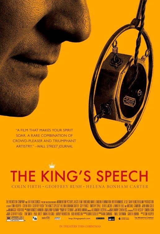 el discurso del rey kings speech poster