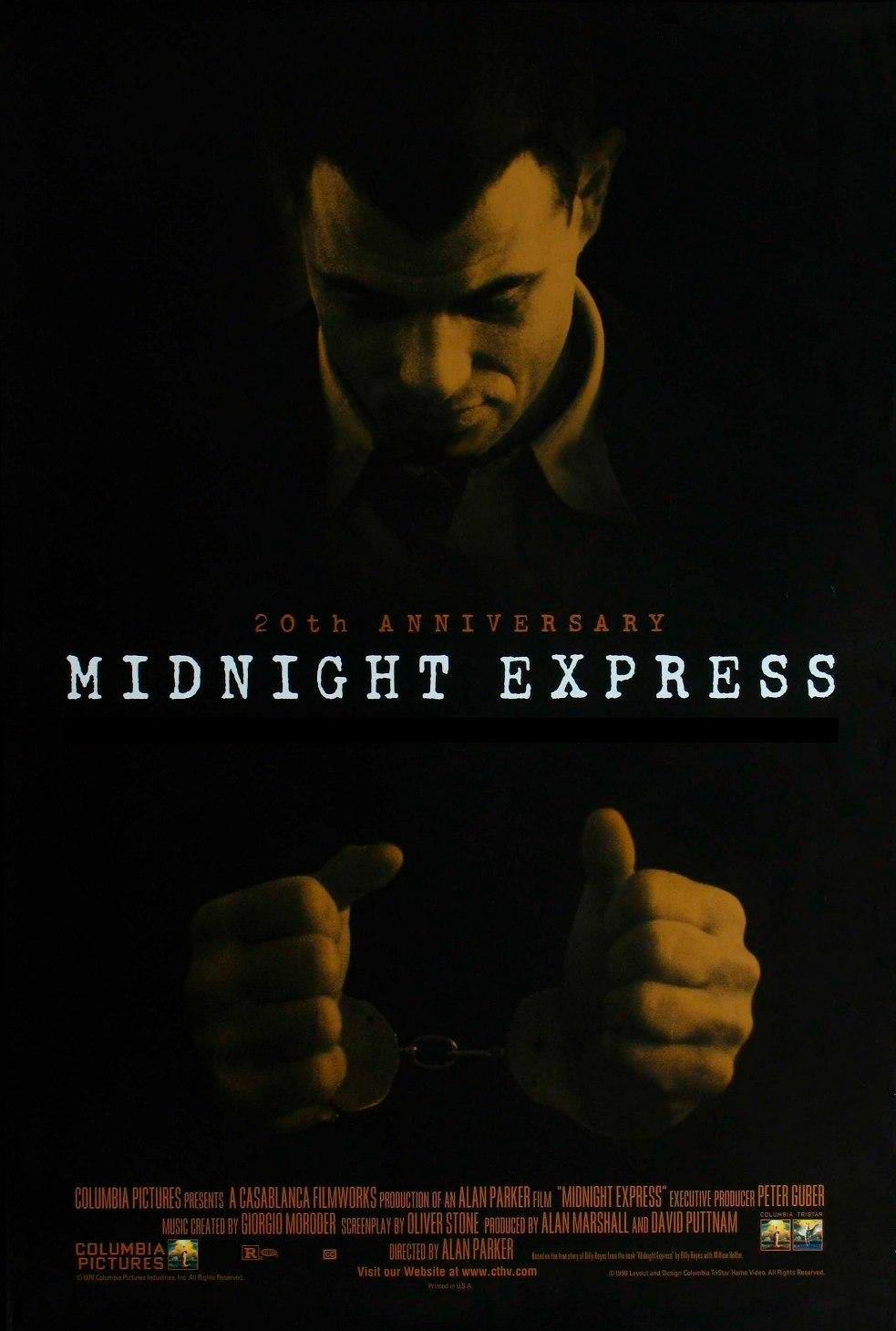 el expreso de medianoche midnight express poster