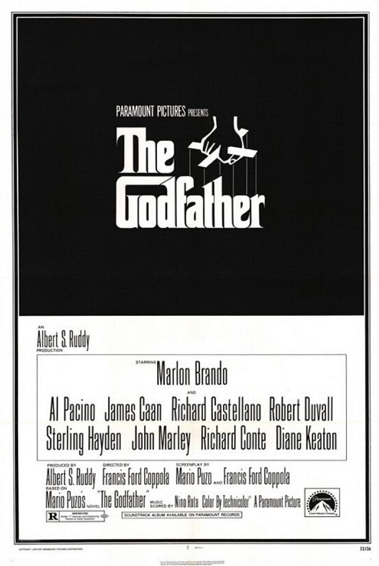 el padrino poster el padrino godfather