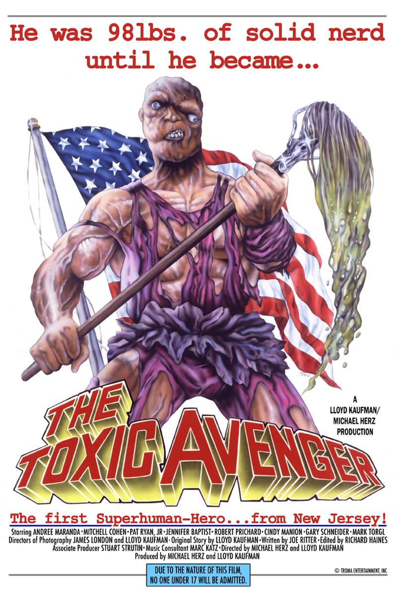 el vengador tóxico toxic avenger poster