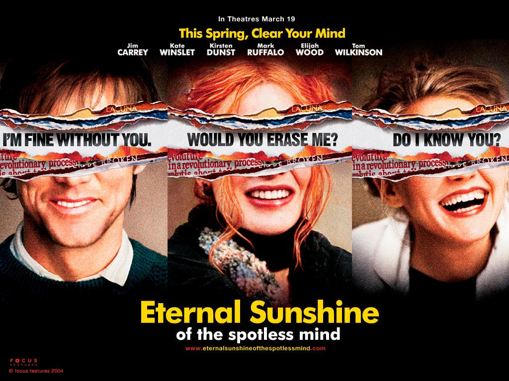 Eternal sunshine of the spotless mind olvidate de mi