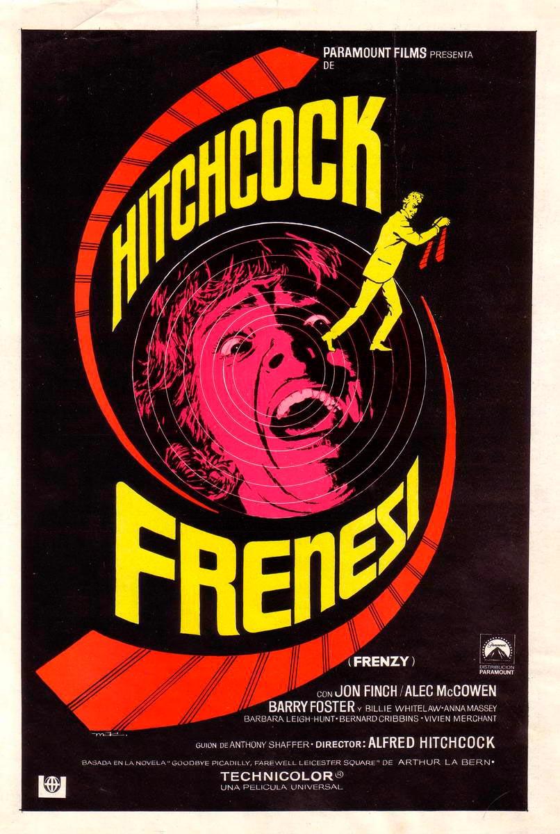 frenesi frenzy poster