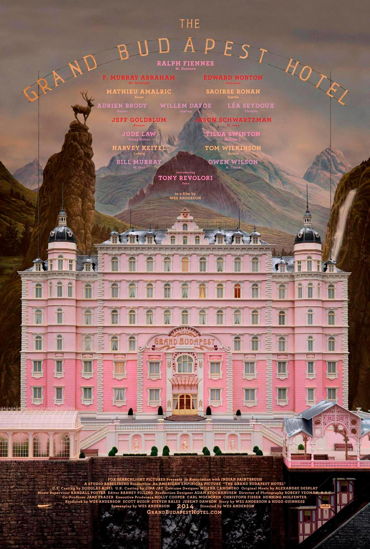 gran hotel budapest poster