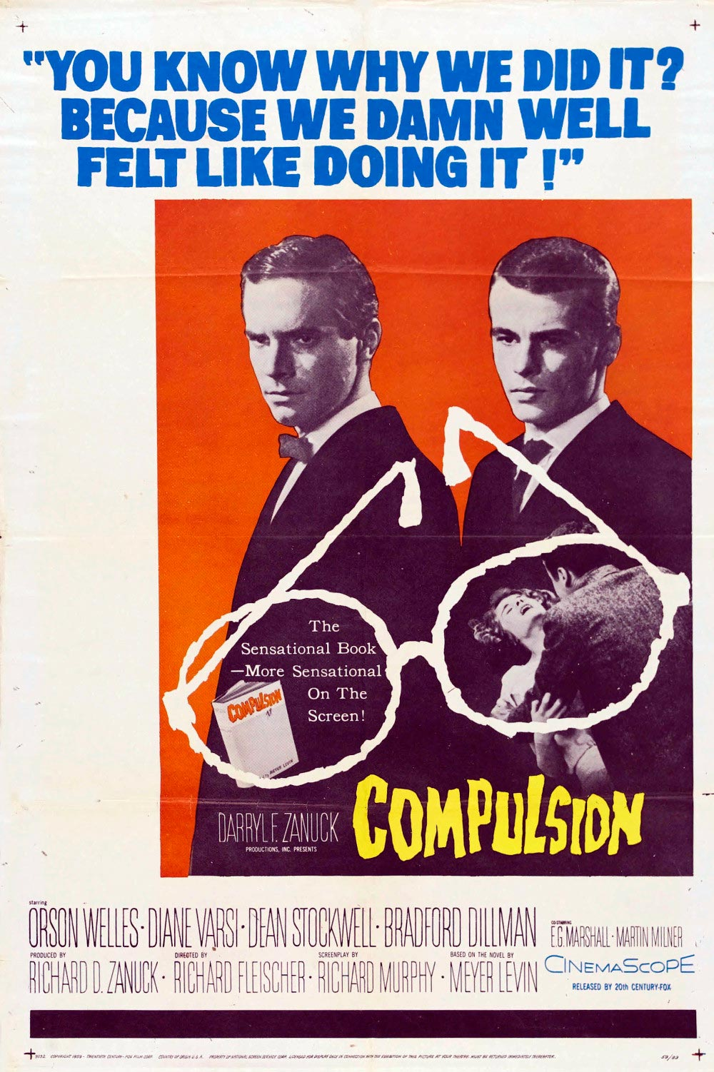 impulso criminal compulsion poster