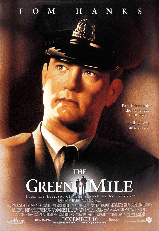 la milla verde the green mile poster