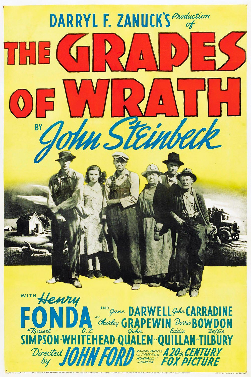 las uvas de la ira poster grapes of wrath