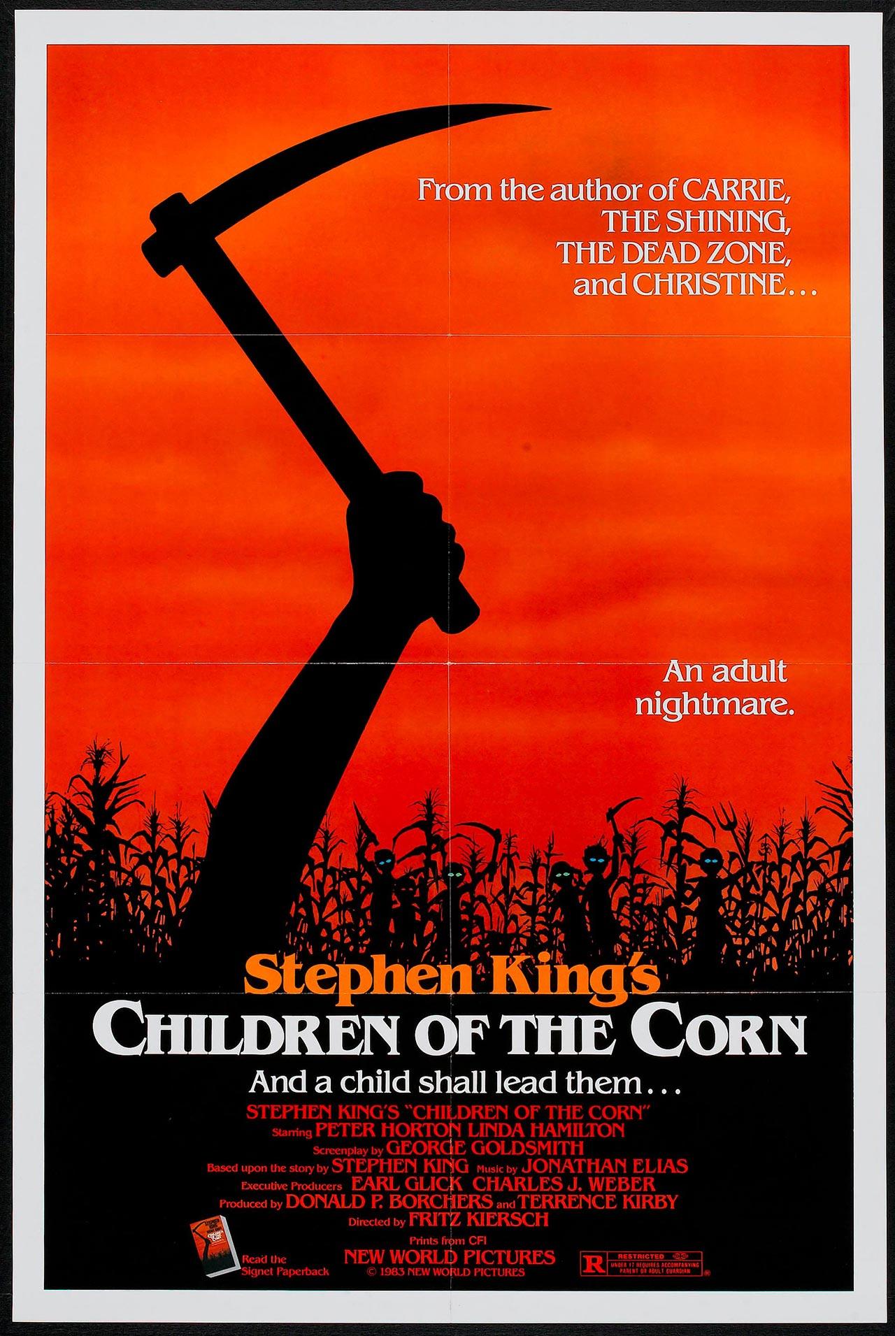 los chicos del maiz poster children of the corn
