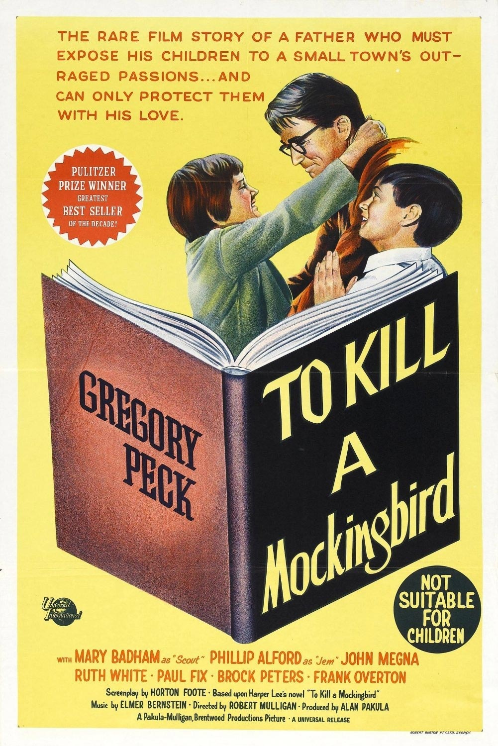 matar a un ruiseñor to kill a mockingbird poster