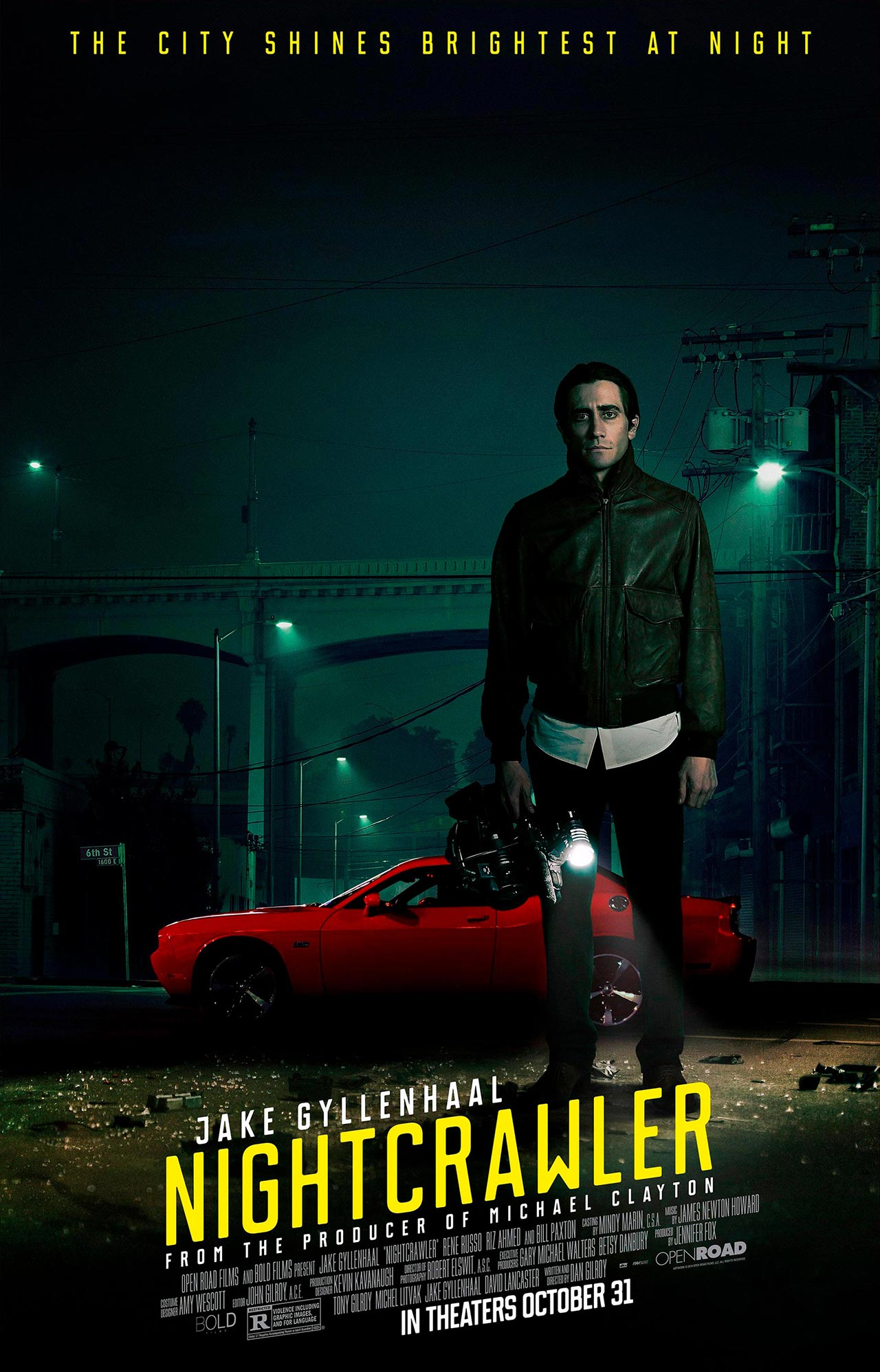 nightcrawler gyllenhaal poster