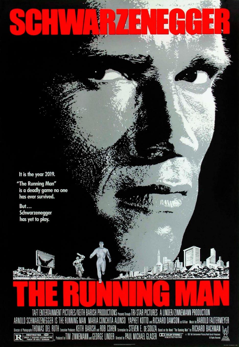 perseguido poster running man