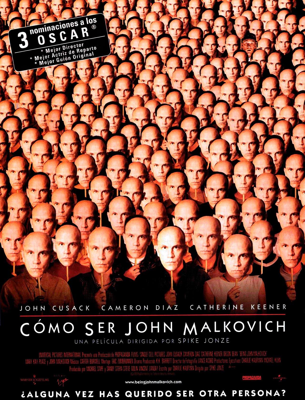 cómo ser john malkovich being john malkovich