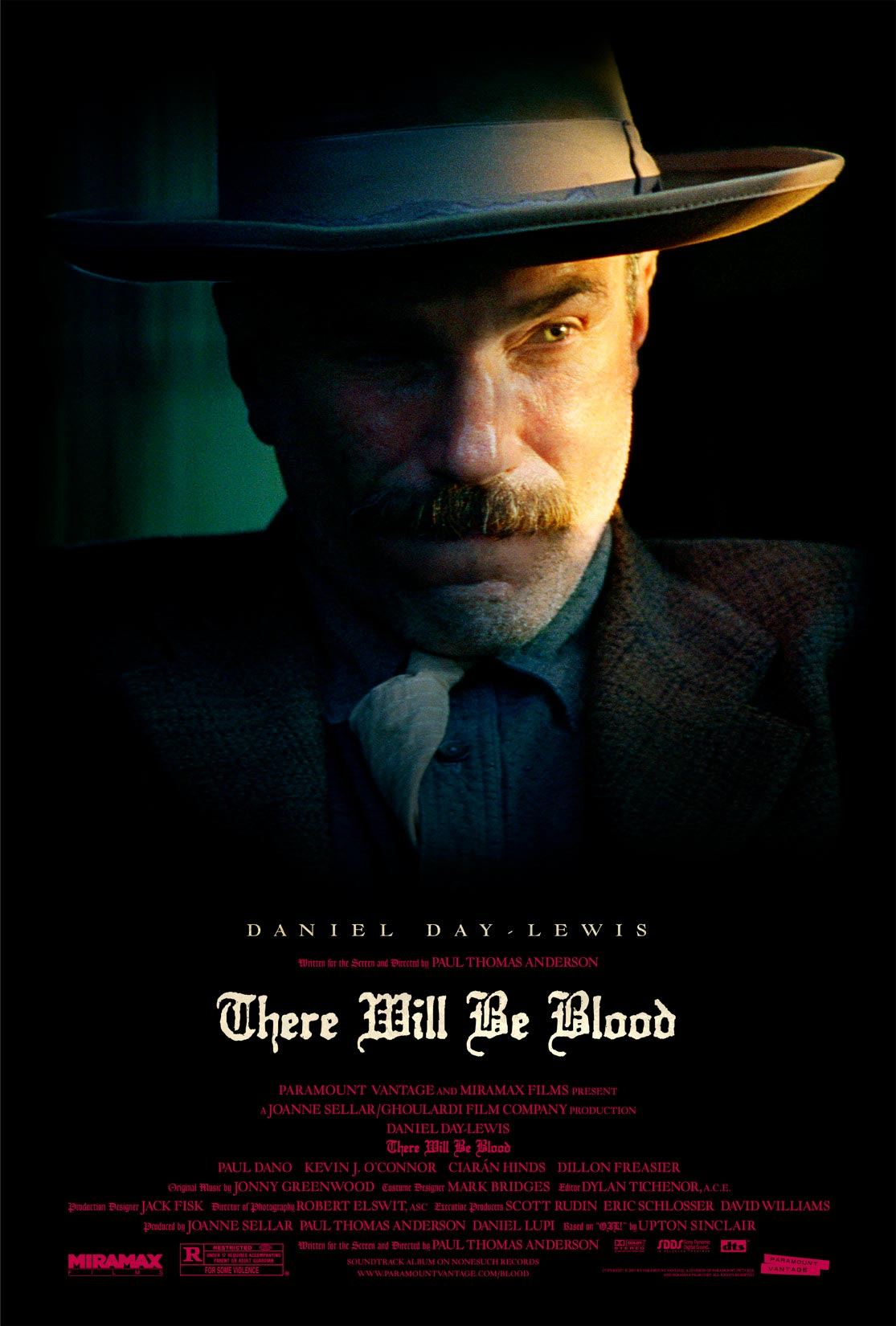 pozos de ambicion there will be blood poster