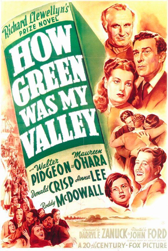 que verde era mi valle poster