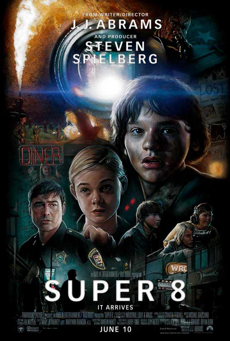 super 8 poster stranger things