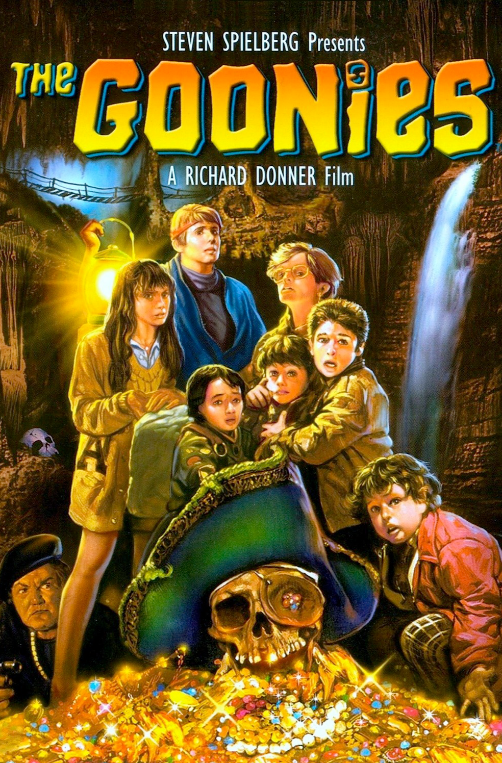 Goonies poster stranger things