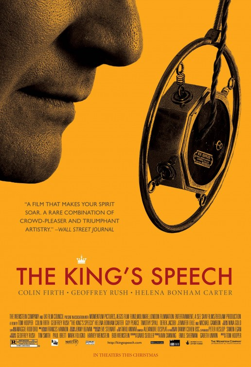 el discurso del rey kings speech poster